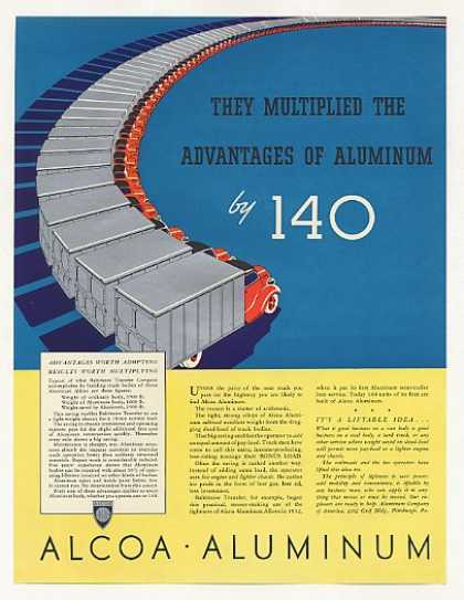 Alcoa Aluminum Baltimore Transfer Truck Fleet (1937)