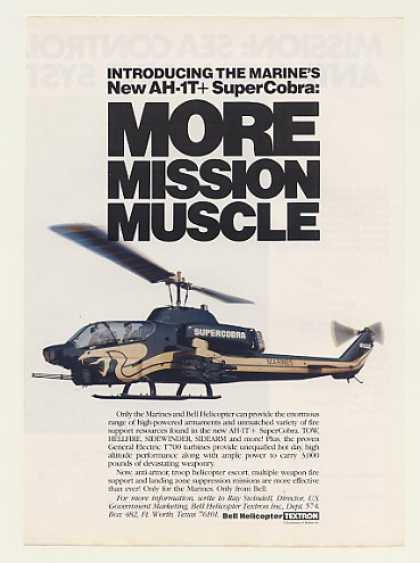 Marines Bell AH-1T+ SuperCobra Helicopter (1984)