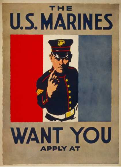 The U.S. Marines Want You (1917)