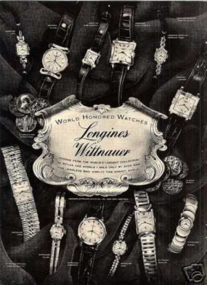 Longines Wittnauer Watches (1953)
