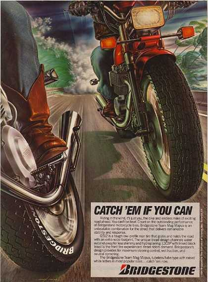 Bridgestone's Motorcycle Tires (1984)