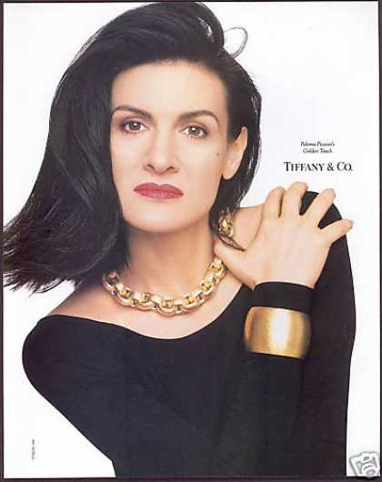 Paloma Picasso Photo Jewelry Tiffany & Co (1990)