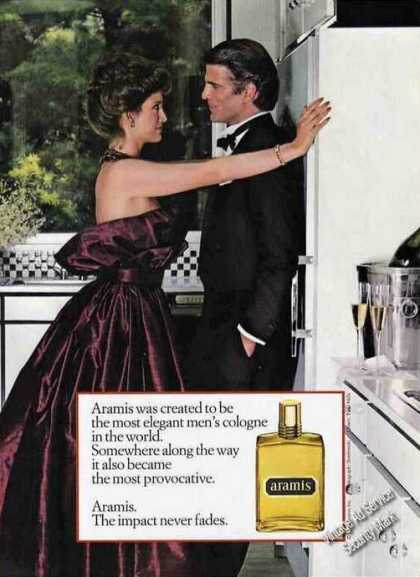"Aramis Mens Cologne ""The Impact Never Fades"" (1982)"