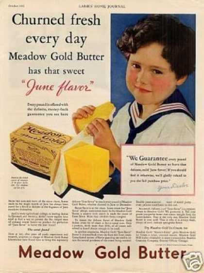 Meadow Gold Butter (1931)