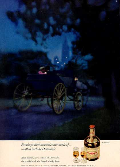 Drambuie Scotch Whiskey Horse Carriage (1962)