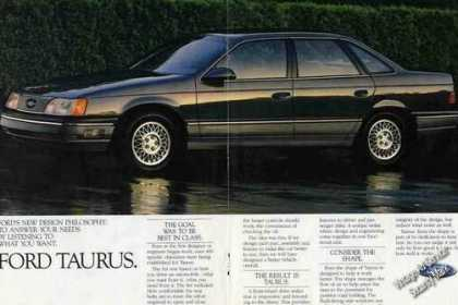 "Ford Taurus ""The Goal Was To Be Best In Class"" (1986)"