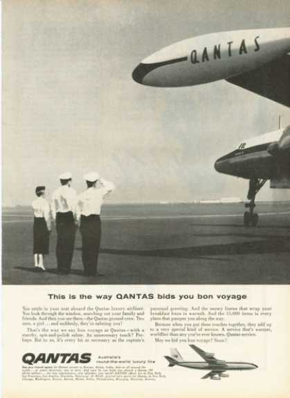 Qantas Australia Airliner Captain (1959)