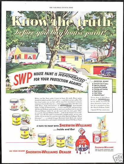 Sherwin Williams House Paint Weatherated (1950)