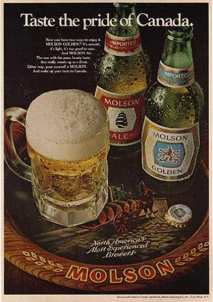 Molson's Golden Ale (1979)