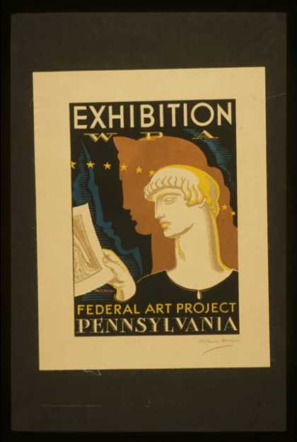 Exhibition – WPA Federal Art Project Pennsylvania / Milhous. (1936)