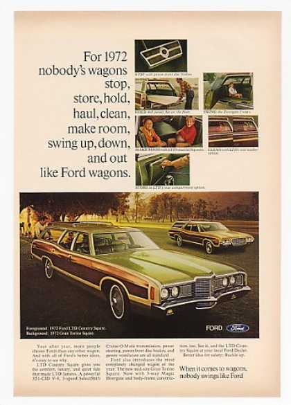 '71 1972 Ford LTD Country Squire & Gran Torino Wagon (1971)