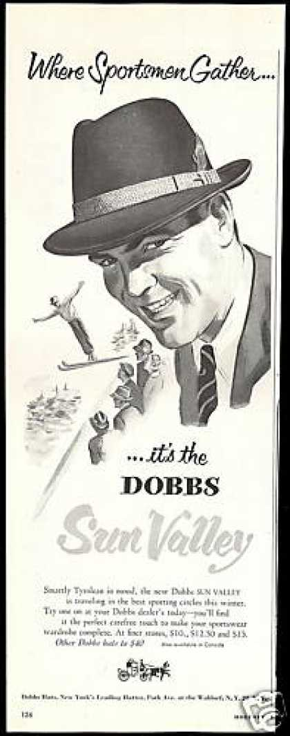 Dobbs Sun Valley Hat Ski Jump (1954)