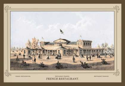 French Restaurant, Centennial International Exhibition (1876)
