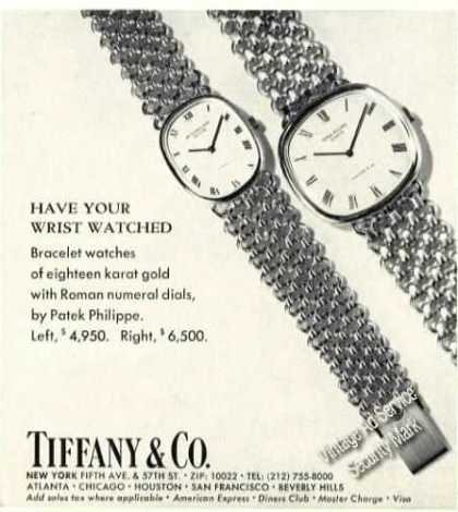 Patek Philippe Watches Tiffany (1978)