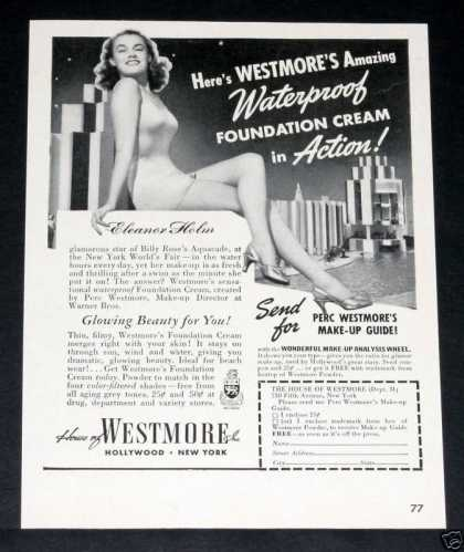 Westmore, Eleanor Holm, Ny Fair (1939)