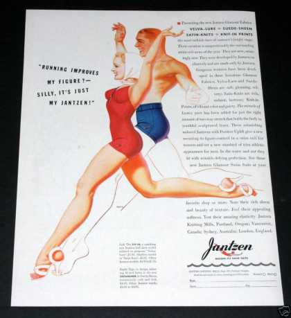 Old , Jantzen Swim Suits, Petty (1939)