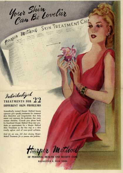 Harper Method's Skin Treatments – Your Skin Can Be Lovelier (1948)