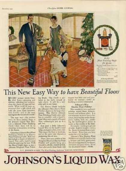 Johnson's Liquid Wax (1925)