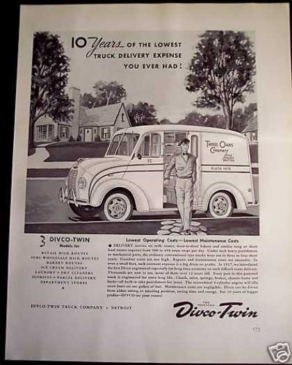 Divco Delivery Trucks for Your Business (1941)