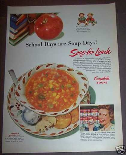 Campbell's Vegetable Soup (1953)