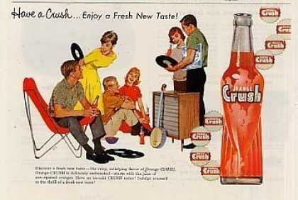 Orange Crush Beverage (1960)