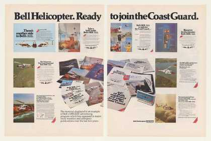 Coast Guard Bell SRR 222 Helicopter (1979)