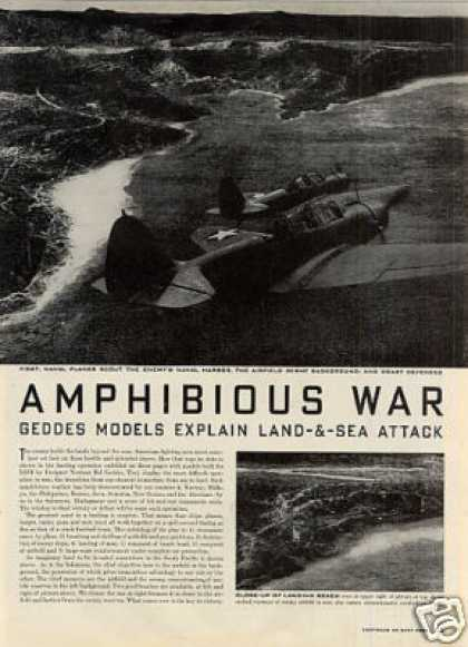 """Amphibious War"" Article (1942)"