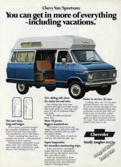 Chevrolet Chevy Van/sportvan Collectible (1971)
