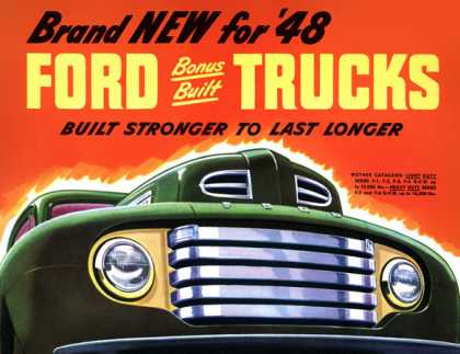 Ford F7 and F8 (1948)