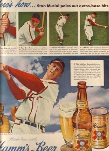 Stan Musial – Hamm's (1949)