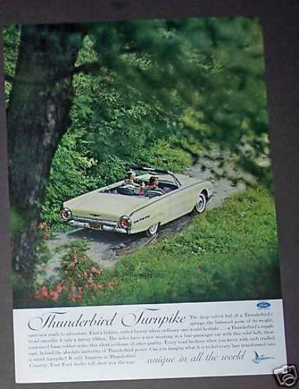 Ford Thunderbird Country Road Photo Car (1962)