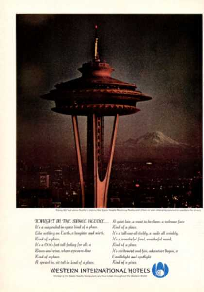 Western International Hotel Space Needle (1964)