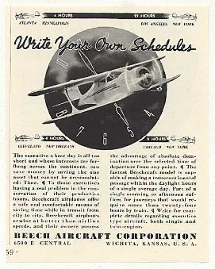 Beechcraft Airplane Beech Aircraft Corp (1937)