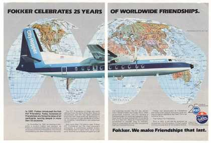 '80 NLM CityHopper Fokker F27 Friendship Airplane 2P (1980)