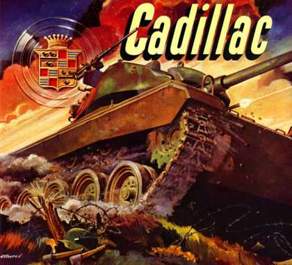 Preview of Cadillac Power M-24 tank with 			Cadillac engines, Hydra-Matic transmissions