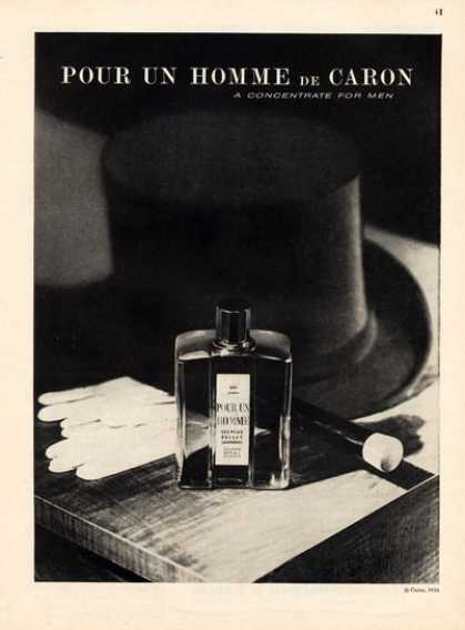 Caron Pour Un Homme for Men Bottle (1957)
