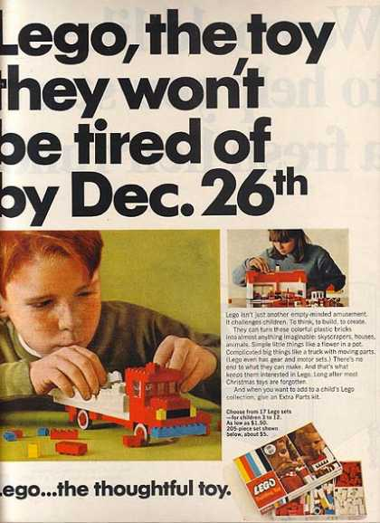 Lego's the thoughtful toy (1967)