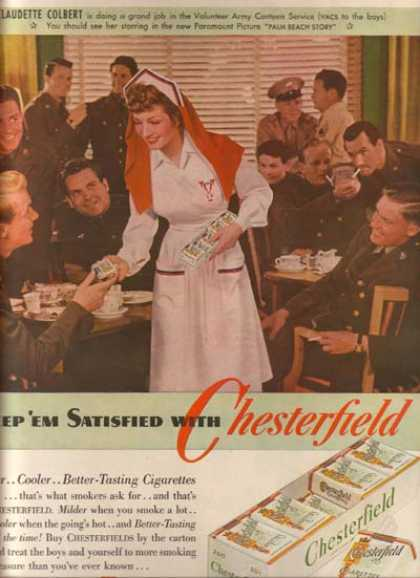 Chesterfield – Claudette Colbert (1942)