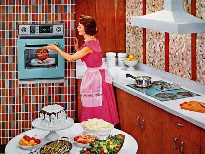For recipe-perfect results time after time 			Hotpoint (1959)