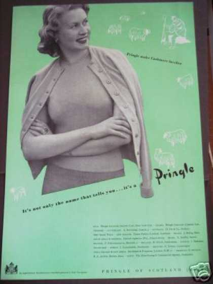 Pringle of Scotland Cashmere Trade (1949)