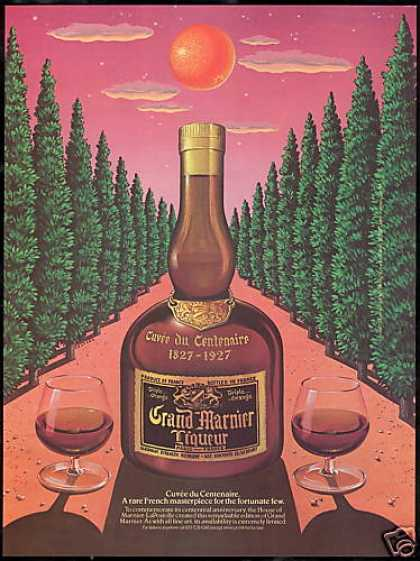 Grand Marnier Liqueur Limited Edition Bottle (1982)