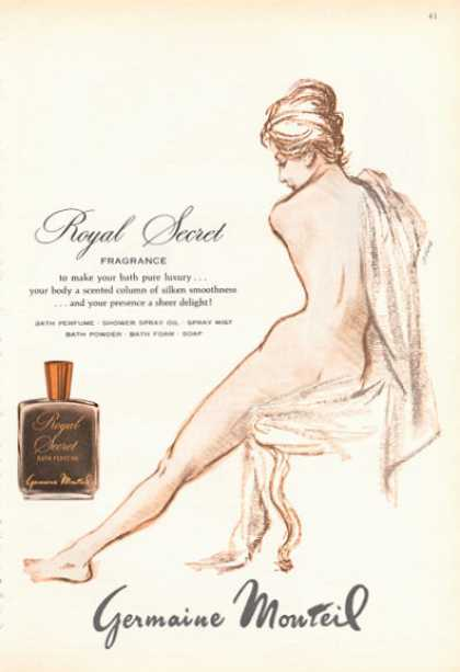 Germaine Monteil Royal Secret Fragrance Nude (1966)