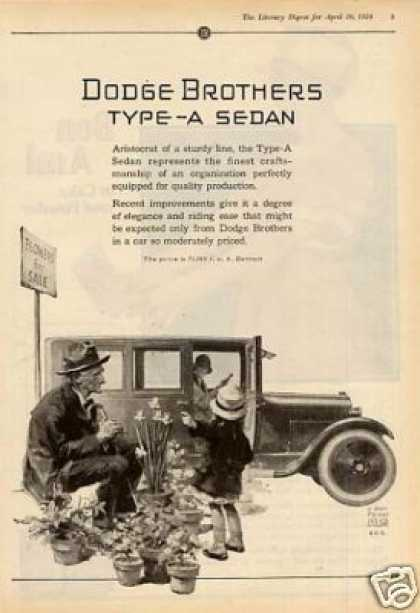 Dodge Brothers Type-a Sedan (1924)