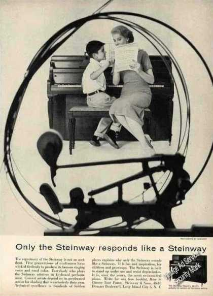 """Only the Steinway Responds Like a Steinway"" (1957)"