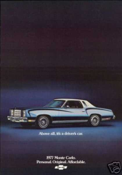 Chevrolet Monte Carlo Photo Vintage (1977)