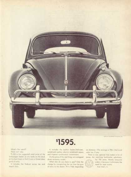Vw Volkswagen Bug $1595 (1961)