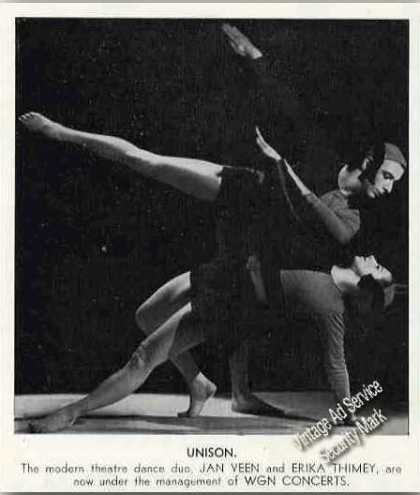 Jan Veen & Erika Thimey Modern Dance Feature (1941)