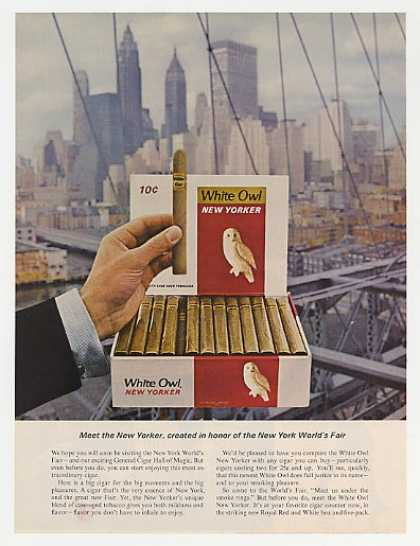 White Owl New Yorker Cigar NY World's Fair (1964)