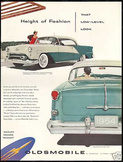 Oldsmobile Ninety-Eight 98 Vintage Car (1954)
