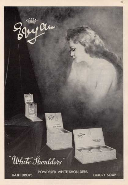 Evyan White Shoulders Perfume (1964)